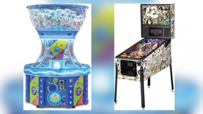 Electrocoin Led Zepplin pinball and ball paradise