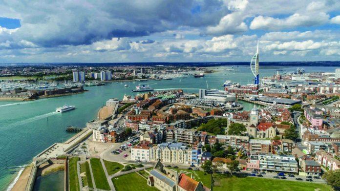Portsmouth drone surveillance