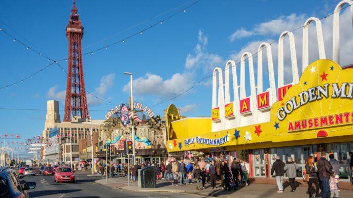 Blackpool celebrates history of Golden Mile centre