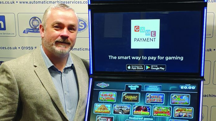 Jason Jarret Automatic Machine Services Game Payment Technology cashless payment system
