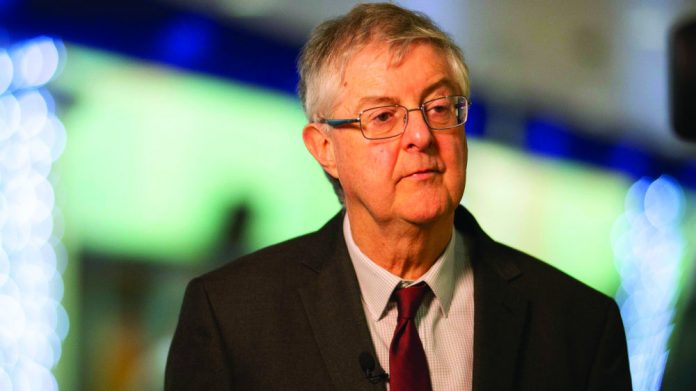 Mark Drakeford contemplating Wales Easter reopening