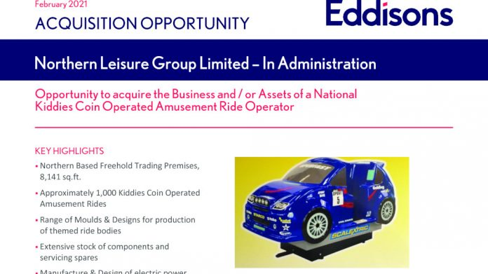 Northern Leisure Group administration