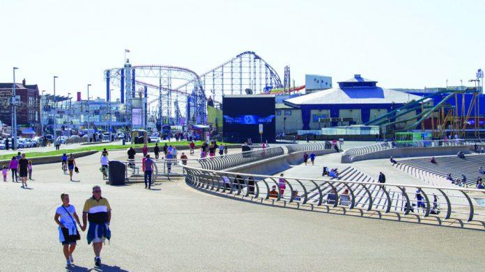 Blackpool Pleasure Beach Big One renovation