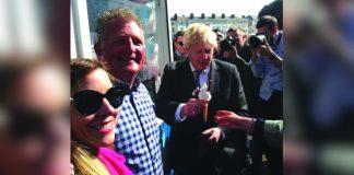 Boris Johnson Llandudno visit