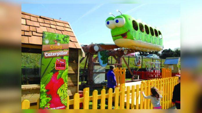 Caterpillar Fantasy Island