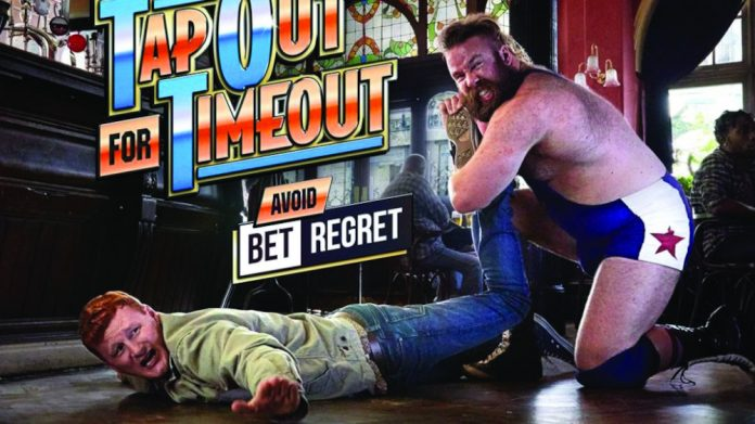 GambleAware Tap out Time out
