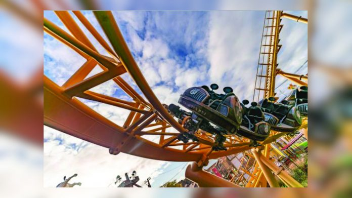 Paultons Park coaster Storm Chaser