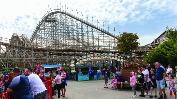 Roller Coaster - Tayto Park Coaster approval