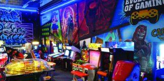 Arcade Warehouse Scunthorpe retro gaming Caton Airey