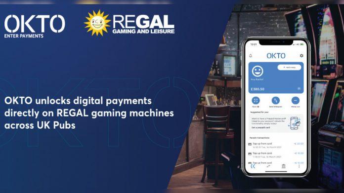 Okto.wallet Regal Gaming UK Pubs