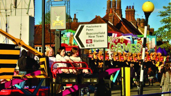 Beaconsfield Charter Fair traveling fairs