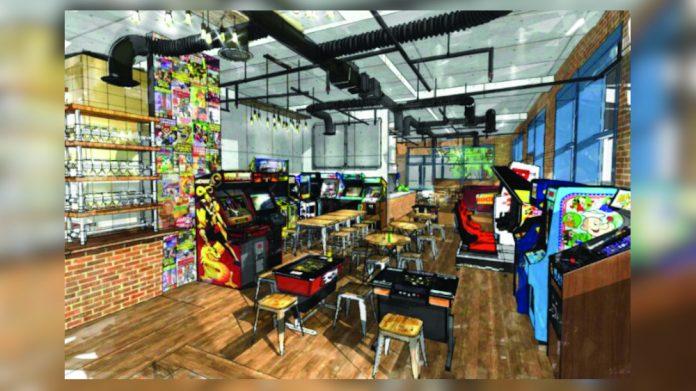 Elephant Park retro arcade Four Quarters