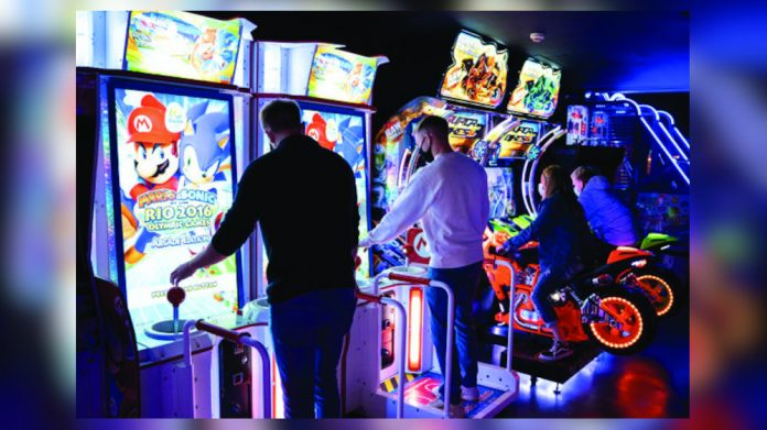 High Score new Southampton arcade