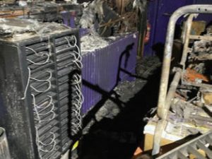 Regent Bingo Hall Spalding fire damage