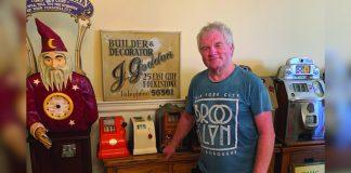 Trevor Naylor 40 years service Godden Gaming Organisation Dreamland