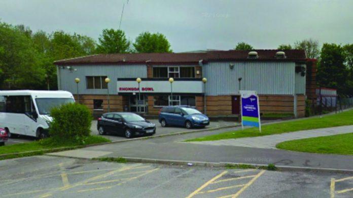Rhondda Bowl Sex Education filming location