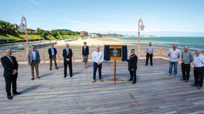 Colwyn Bay Victoria Pier reopens