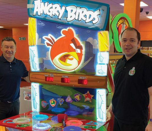 Geoff Spencer Harry Levy Amusements Angry Birds Whacker