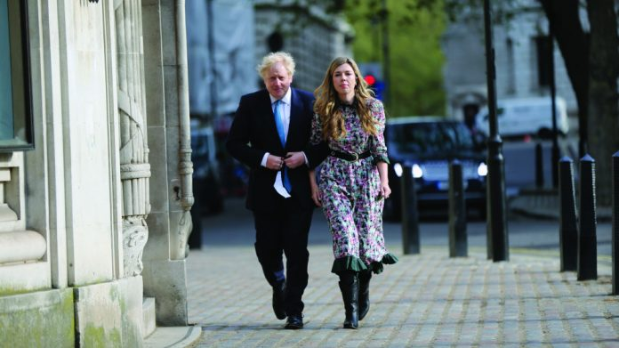 Boris Johnson Carrie off the record spotless machines TUC bank holidays