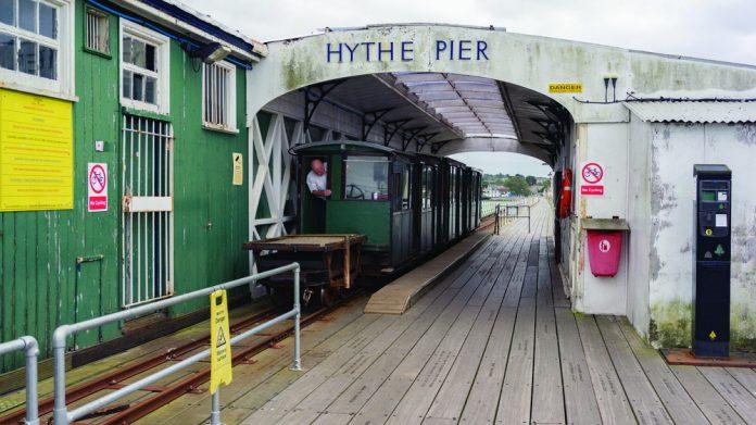 Hythe Pier receives Grade II listing