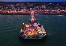 Brighton Pier Off The Record Labour Conference John Whittingdale energy crisis