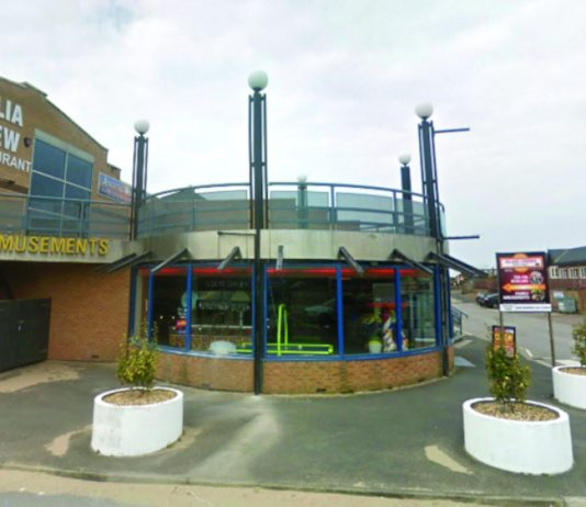 Surfside Entertainment Centre St Annes new LED signage