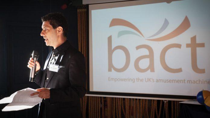 Alex Sobell MP Bacta reception