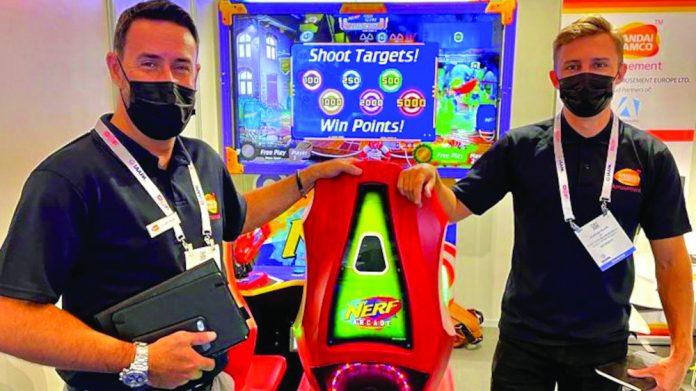 BNAE Bandai Namco Amusement Europe IAAPA success
