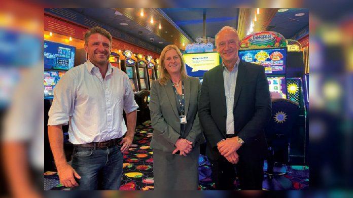 Merkur Slots Milton Keynes MP visit