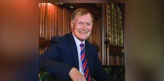 Sir David Amess SGGB and Bacta pay tribute